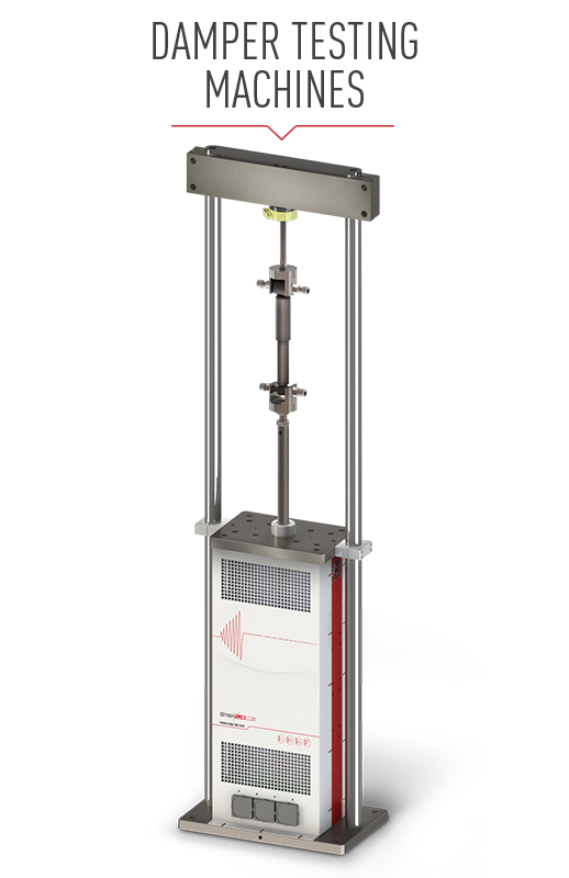 Damper testing machine