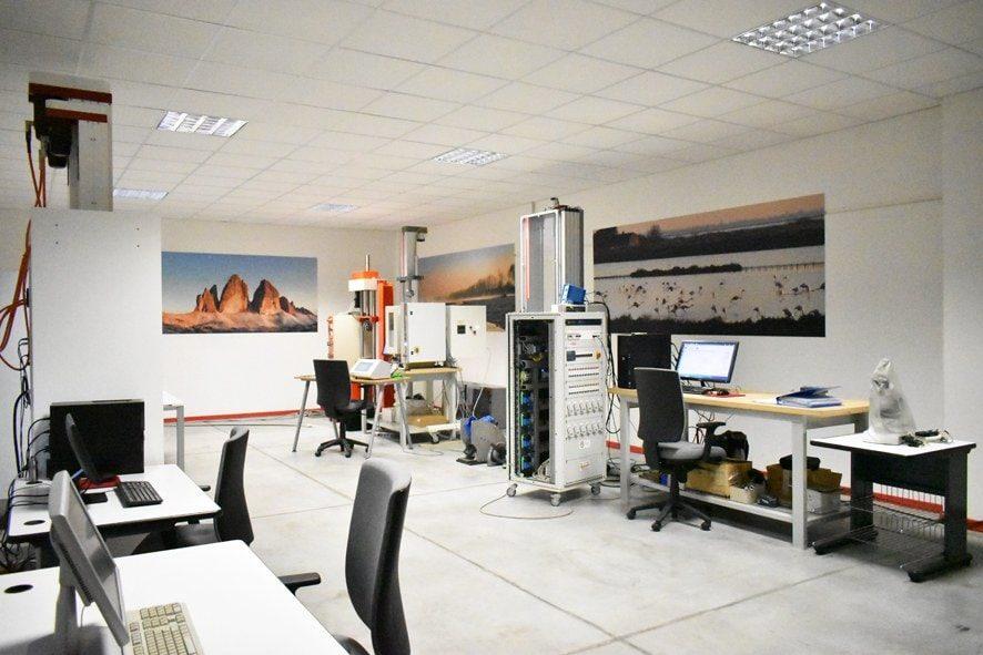 Laboratorio dove si eseguono i test di prodotto